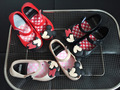 Sandálias praia crianças mickey minnie miúdos criança do bebê meninas sapatos de geléia de cristal doces cheiro estilo mini melissa