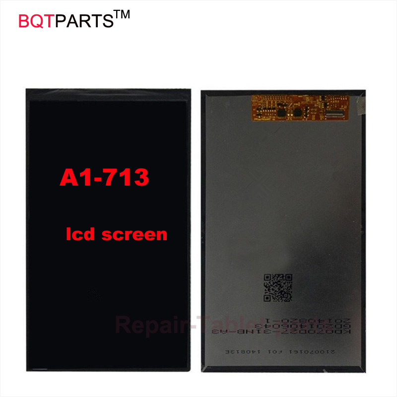 BQTparts For Acer Iconia Tab 7 A1-713 lcd screen Display replacement Parts srjtek 7inch for acer iconia tab7 tab 7 a1 713 lcd display touch screen digitizer sensor replacement parts tablet pc
