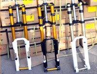 Magnesium Alloy Moutain Bike Fork 20mm Downhill Bike 26 Disc Brake 180mm Travel Suspension Fork