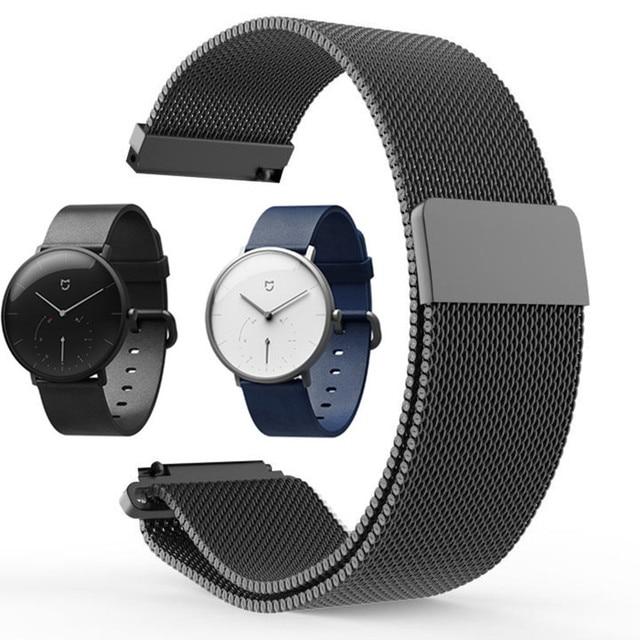 150fcd243 Pulsera para Xiaomi Mijia reloj de cuarzo correa/Protector de pantalla  reloj de pulsera de
