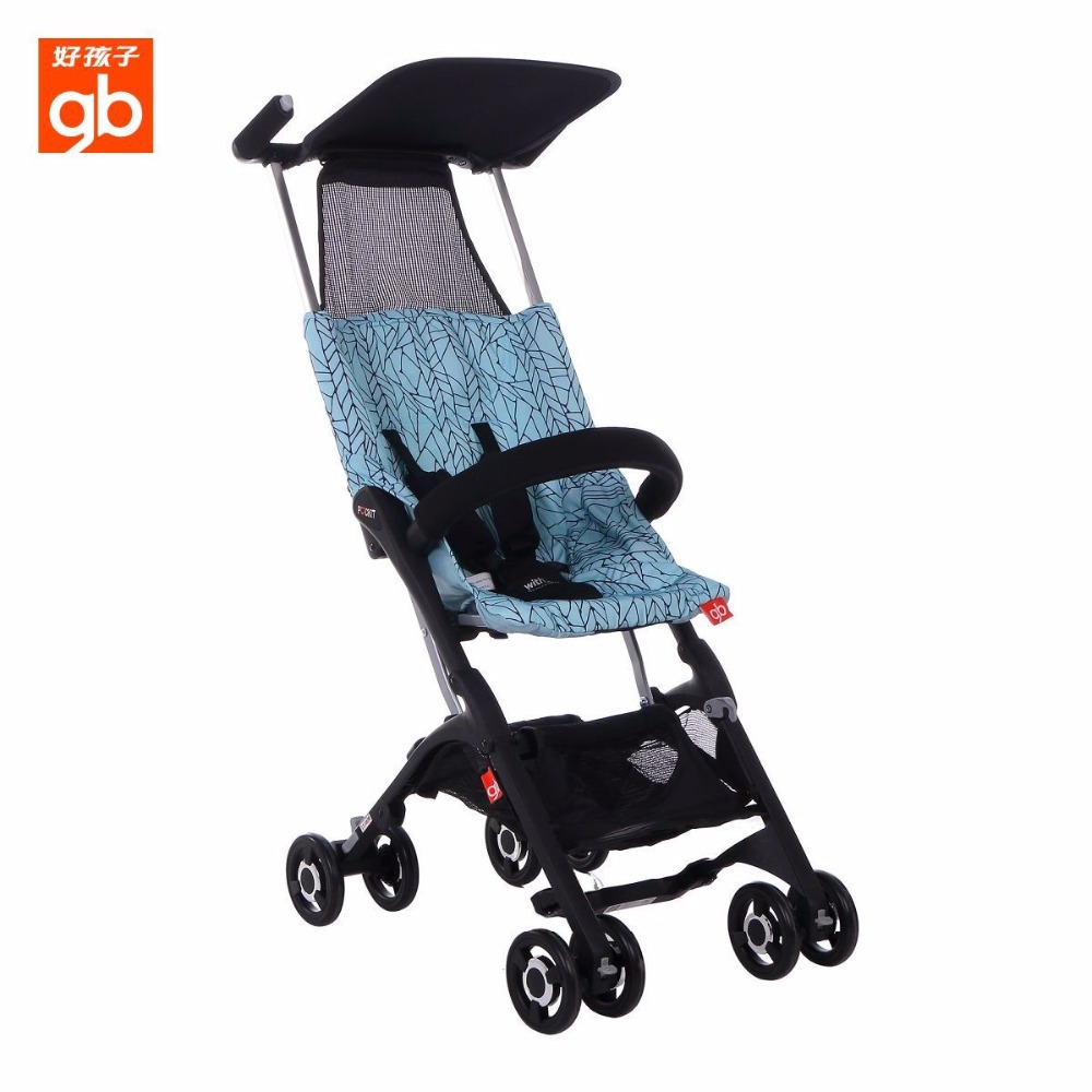 ФОТО goodbaby gb pockit fold small good baby stroller poussette d666a