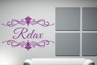 Personalise Initial Name Baby Girl Nursery Bedroom Wall Sticker Decal Decor