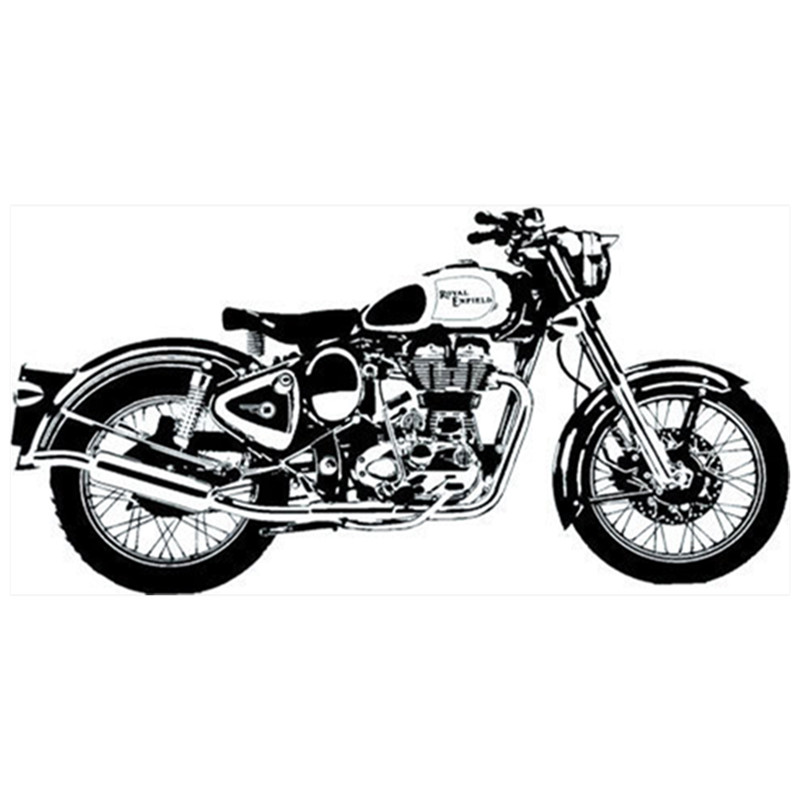 Us 149 20 Offtop Cool 3d Motorcycle Wall Decals Vinyl Stickers Vintage Home Decoration Garage Club Creative Wallpaper Art Poster 12060cm In Wall