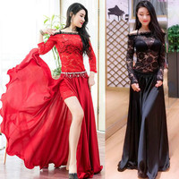 2018 new Women Belly Dance Costume Oriental Dancing Clothing for Women belly dance wear stage performance M, L DW068