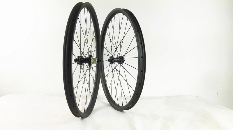 Straight pull hubs powerway M42 carbon MTB wheel 29er wheel disc brake straight pull wheel 27mm/30mm/35mm tubeless