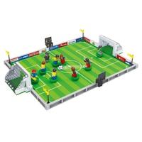 football City Football Field fit Soccer figures city Model Building Bricks Blocks educational supplies gift for kids