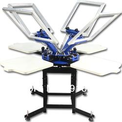 Fast and free shipping 4 color 4 station screen printing machine press t shirt printer equipment.jpg 250x250