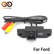 HD CCD Car Rear view Parking Back Up Reversing Camera For Ford Focus Sedan (2) (3)/08/10 Focus Night vision