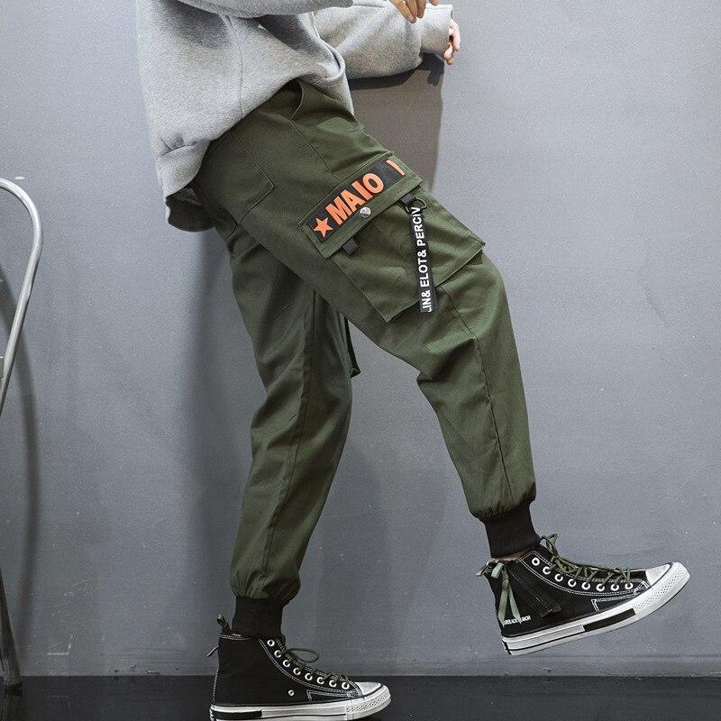 Streetwear Loisirs Black Hommes g04 Japonais Mode Hip Camouf Hop Multi Pieds De Harem G04 Cargo Nouveau Poche Pantalon 2019 Green PwTqpYw