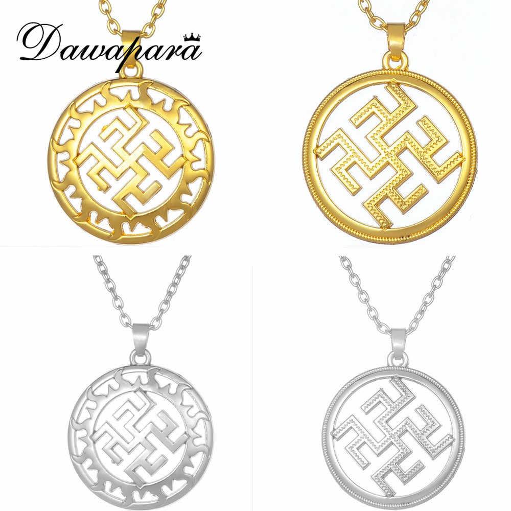 Dawapara เอาชนะหญ้าดอกไม้เฟิร์น Amulet กับโรค Slavic talisman Minecr ชายเครื่องประดับสร้อยคอผู้หญิง