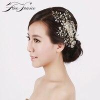 Beautiful Bride S Hair Comb Exquisite Pure Handmade Diamond Hoop