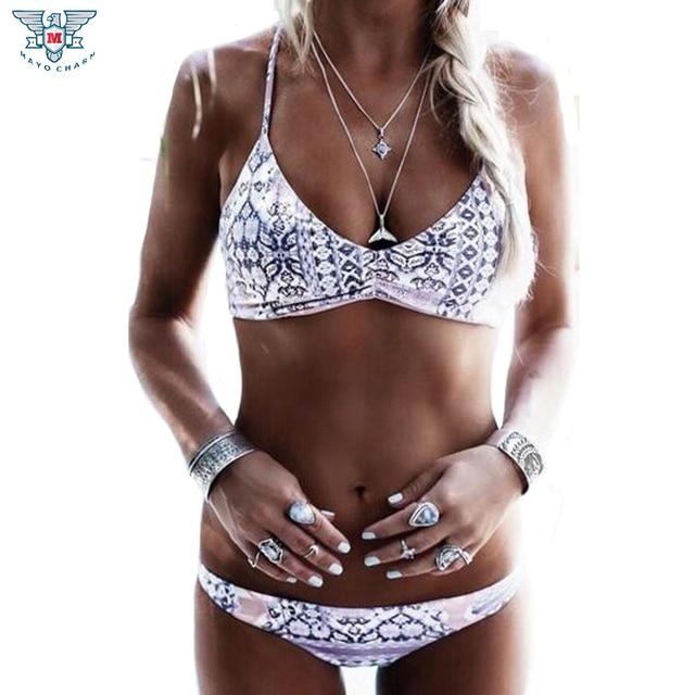 Boho print bikini