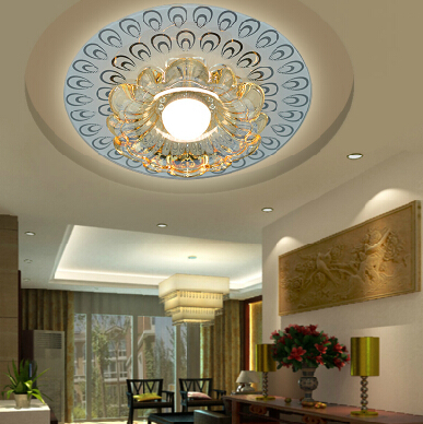 Colorpai 3 w slaapkamer led Crystal plafond lampen voor thuis ...