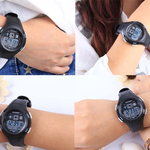 SANDA Brand Children Watches LED Digital Multifunctional Waterproof Wristwatches Outdoor Sports Watches for Kids Boy Girls #331 Multan