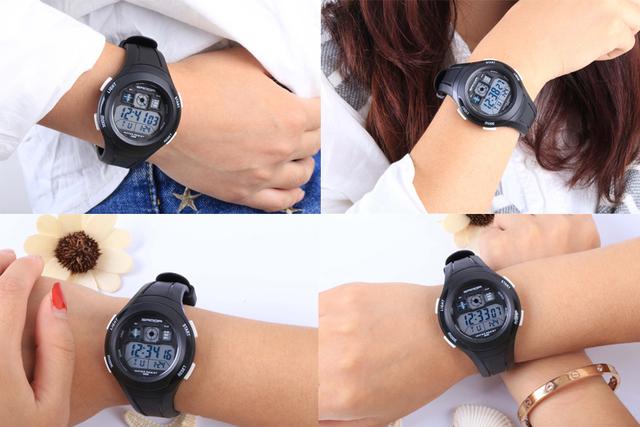 SANDA Brand Children Watches LED Digital Multifunctional Waterproof Wristwatches Outdoor Sports Watches for Kids Boy Girls #331