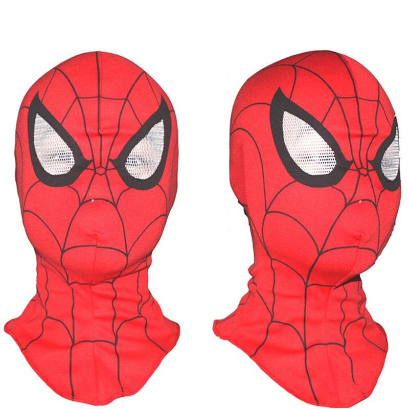 Online-Shop Kinder Und Erwachsene Spiderman Maske Elastische Spider ...