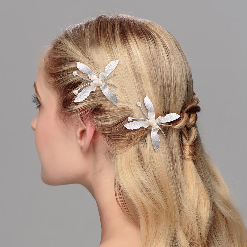 miallo nueva boda de la mariposa adornos para el cabello bonito regalo de cumpleaos para