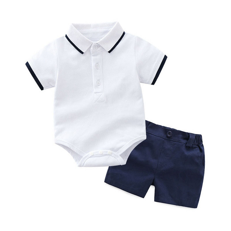 shirt pants 2 pieces pack cheap price 2018 new product dark blue white khaki for little boys cool clothing outdoor indoor