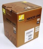 Nieuwe Nikon Nikkor AF-S DX 18-140mm f/3.5-5.6G ED VR Telezoomobjectief (Doos)