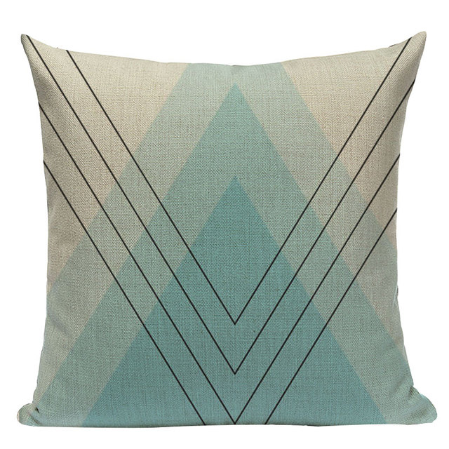 Nordic Pop Geometric Pillowcase Size: L313 Color: L313-14