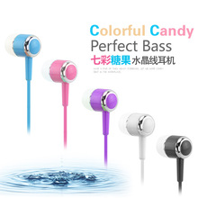 Original Sport in Ear Earphone Microphone 3.5mm HIFI Earphones for iphone 6/5/4 galaxy S5/S4/3 iOS/Android with microphone