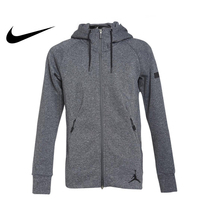Original New Arrival Official NIKE AS ICON FLEECE FZ HOODIE Men's Jacket Hooded Sportswear nike men Polyester Breathable 809473