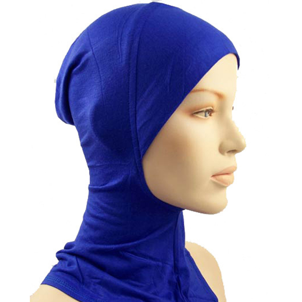 Under Scarf Hat Cap Bone Bonnet Islamic Head Wear Neck Cover Muslim