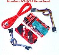 Free Ship 10pcs Pickit 3 Programming Emulator PIC Microcontroller Minimum System Board Development Board Universal Pro