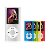 MP3 MP4 Player Supports 64 GB Micro SD Card With Photo Viewer E Book Reader And