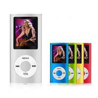 MP3/MP4 Player supporta 64 GB Micro SD Card con Visualizzatore di Foto, e-book Reader e Registratore Vocale e FM Radio Video