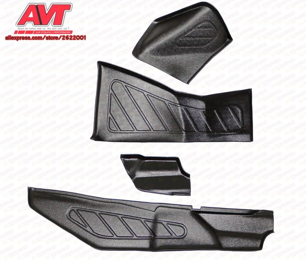 Pads on inner lining doors and the tunnel for Lada Vesta 2015- sill plates 2 pcs / 1 set plastic ABS car styling accessories цена