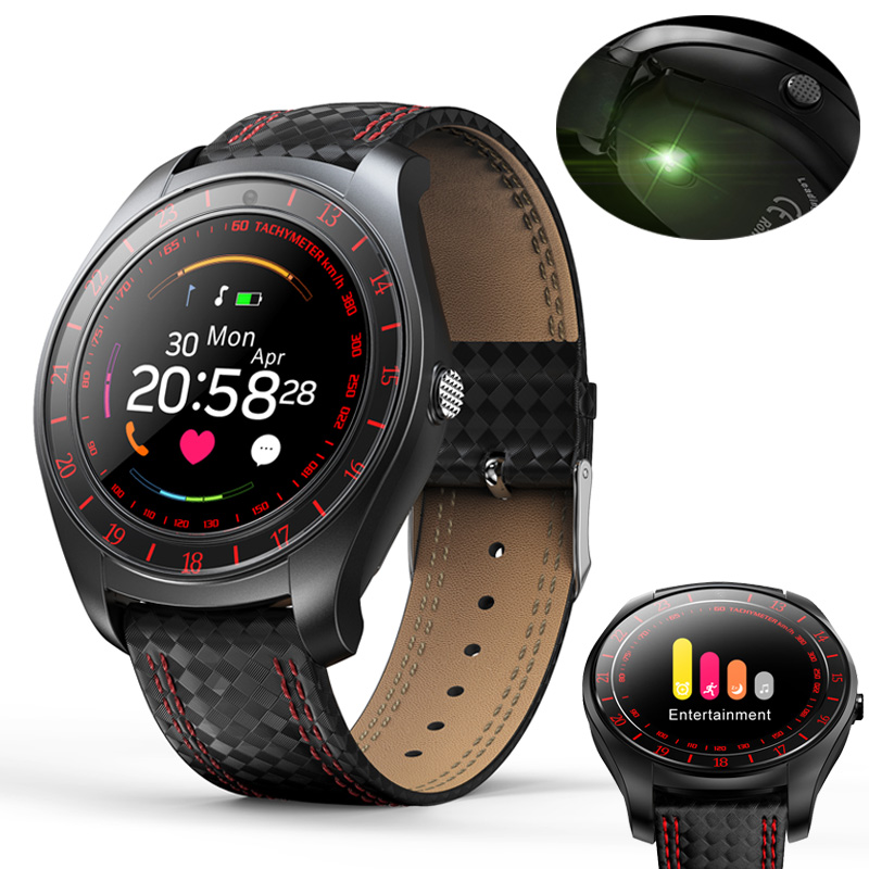Smart Watch Men Women Heart Rate Monitor Bluetooth Pedometer Fitness Sports Smartwatch With Camera Support SIM Card For Android harumika 30509