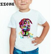 T-Shirt Kids Tupac 2pac Baby Tops Short-Sleeve Swag-Printed Girls/boys Children Summer