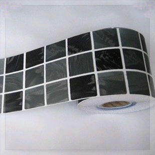 giro vita adesivi murali bagno impermeabile adesivi in pvc carta da parati adesivi per piastrelle a mosaico 10 cm 4 m tapete 3d in giro vita adesivi