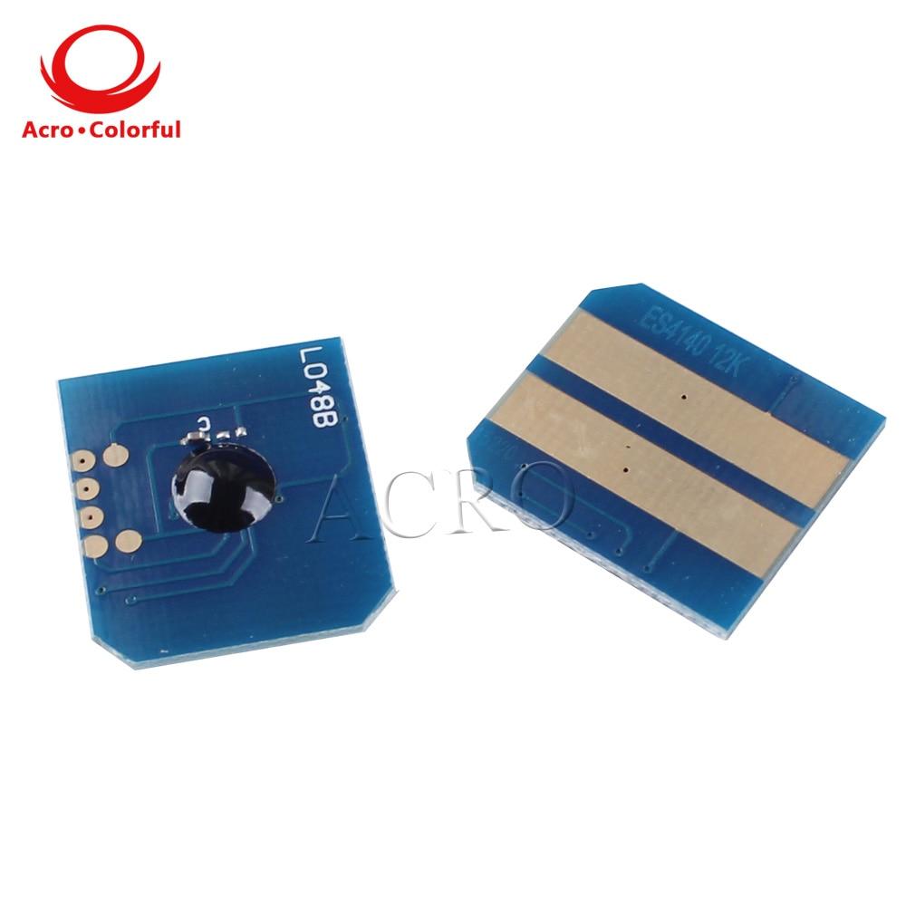 12K 43979223 Toner chip for OKI ES4140 ES4160 ES4180 laser printer copier cartridge refill in Cartridge Chip from Computer Office