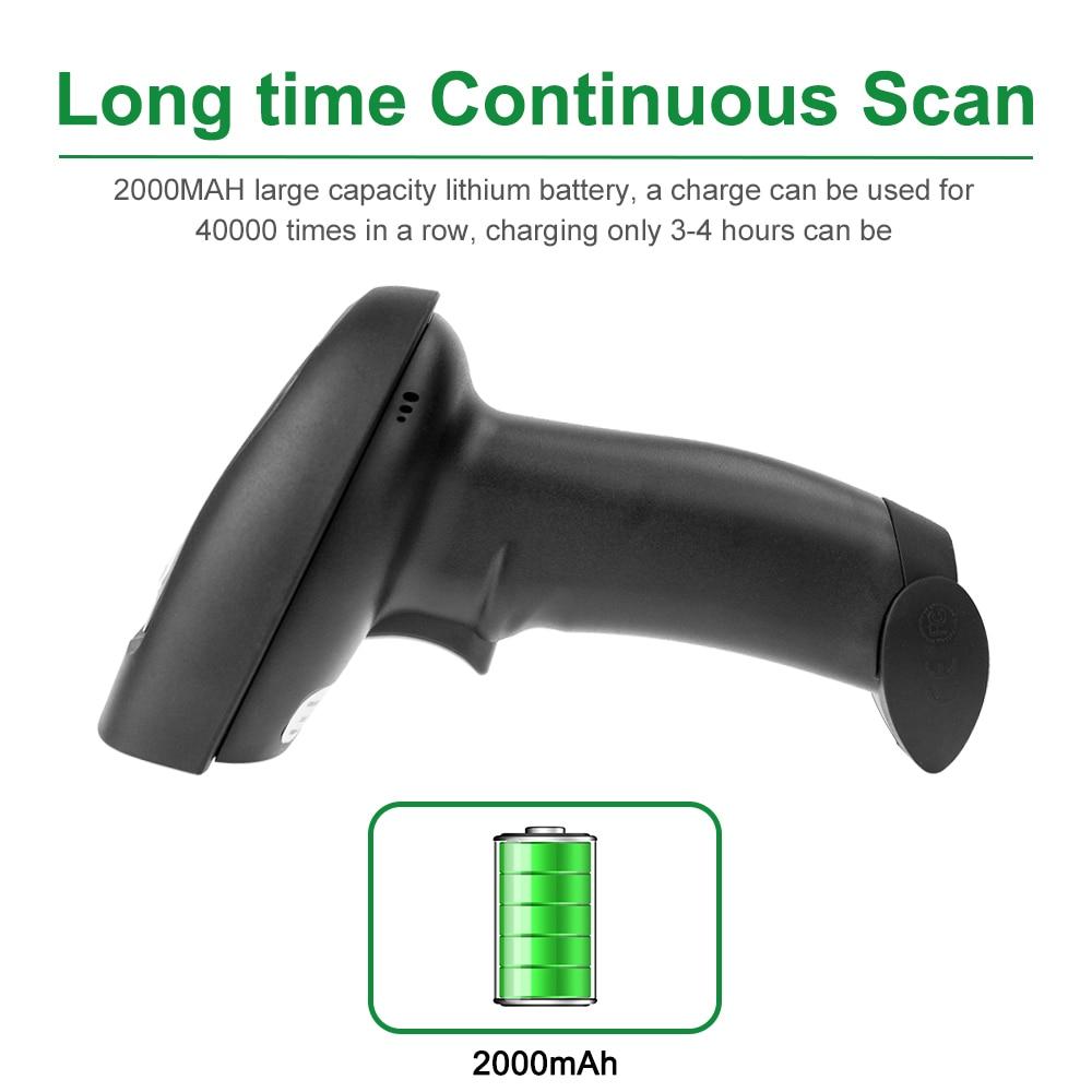 NT-1228W Sans Fil 2D QR Barcode Scanner ET NT-1228BC Bluetooth CCD Lecteur ET NT-1228 USB Filaire 2D Scanner Pour Le Paiement Mobile - 5