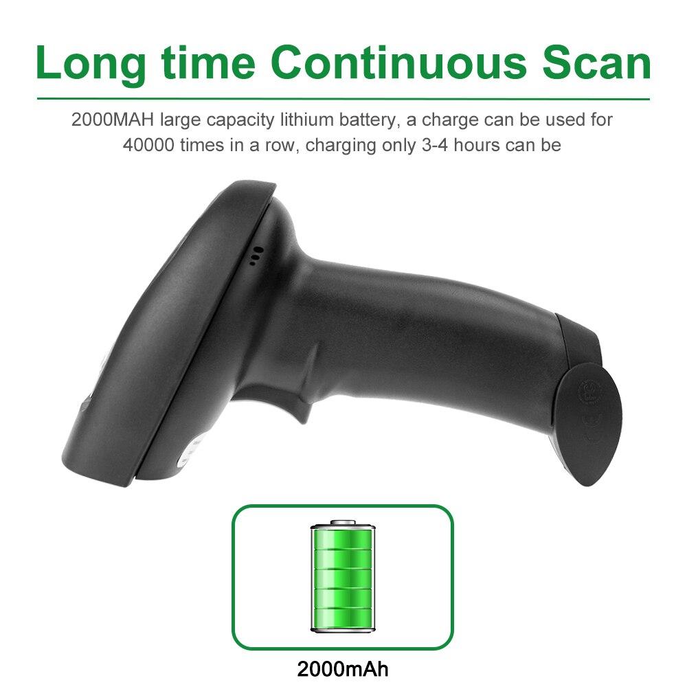 Scanners código de barras sem fio Operation : Manual And Handheld