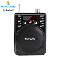 Bluetooth Wireless Voice Amplifier Portable With 2 4G Wireless Microphone Loud Speaker Megaphone Portable Speakers With