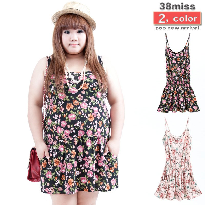 Plus Size Dress For Woman2012 New Style Floral Dresses Cotton For