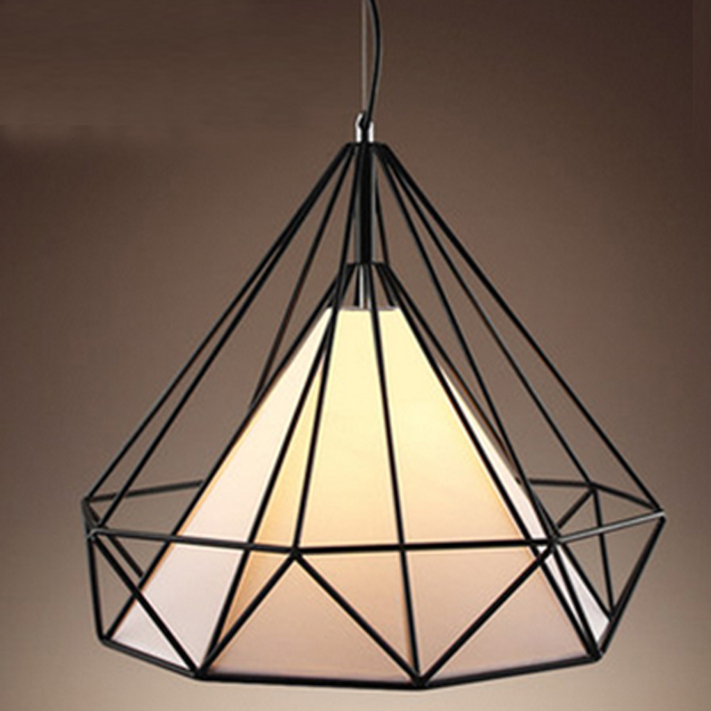 Free shipping american vintage cage pendant lights eu warehouse free shipping american vintage cage pendant lights eu warehouse black diamond pendant lamp diamond creative restaurant lights in pendant lights from lights aloadofball Choice Image