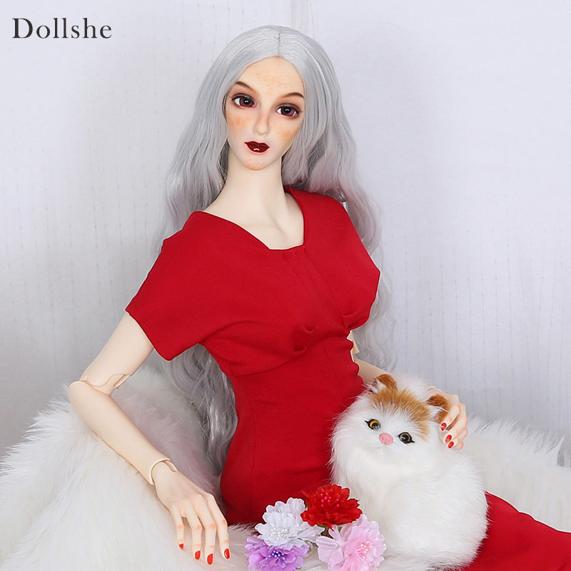 Dollshe craft DS Ausley Love 26F Classic soft bjd sd doll 1/3 body model boys oueneifs High Quality toy Fashioh shop цена