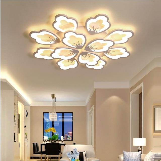 LED Ceiling Lights Modern For Living Room Bedroom Modern LED ceiling Lamp Home Lighting Fixtures AC110V/220V LED Indoor Lighting