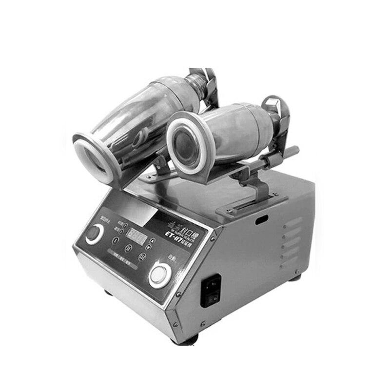 220V/75w  Horizontal double-headed  shaking machine,  wine shaking and shakers swing machine stainless steel material ET-117 xxl wine 20 75 oz