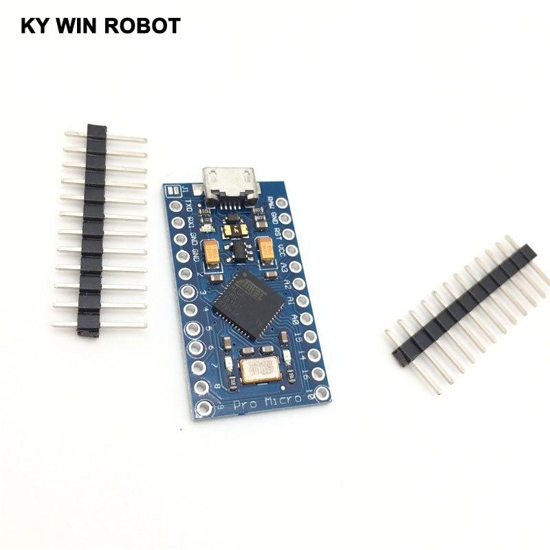 Pro Micro Atmega32u4 5 V 16 Mhz Reemplazar Atmega328 Para Arduino Pro Mini W864