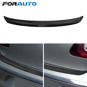 1pc Car Sticker And Decals 108x7cm Carbon Fiber Trim Protector Rear Bumper Sticker with Self Adhesive For VW Golf MK6 R20