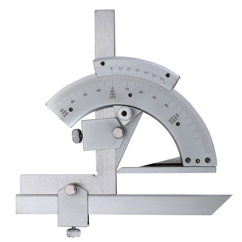 Universal Bevel Protractor 0 320x2 Degree Angle Gauge Tool Inner Outer angle Precision Measuring Finder