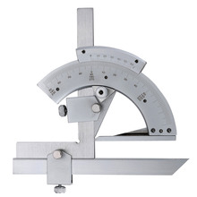 Wholesale Universal Bevel Protractor 0-320×2′ Degree Angle Gauge Tool  Inner&Outer angle Precision Measuring Finder