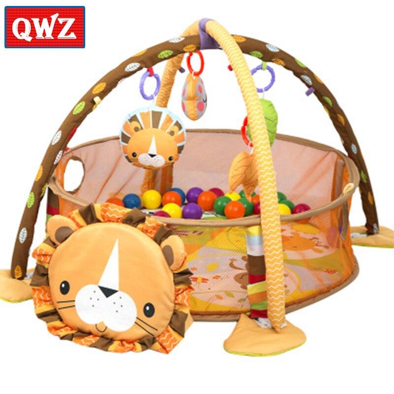 Baby anti-urine marine game mat Climbing mat fitness rack Infant educational toys Baby sleeping decorative animal crawling mat