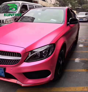 Car Styling Wrap Electro-optic pink Car Vinyl film Body Sticker Car sticker With Air Free Bubble For Motorcycle Car Tuning Parts