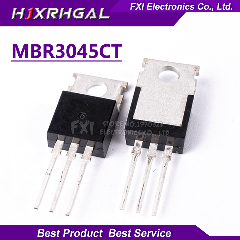 20pcs <font><b>MBR3045CT</b></font> 30A45V Schottky and fast recovery diode TO-220 new original image